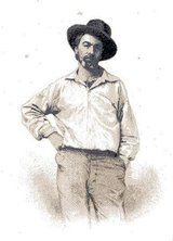 Beeldvergroting: Walt Whitman in 1855